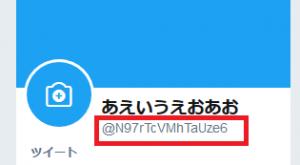 15文字 ランダムな twitter ID